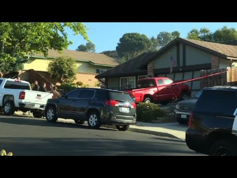 Images of US shooter Ian David Longs house