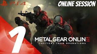 Metal Gear Online 3 - Multiplayer Online Gameplay Session Part 1 - Enforcer [1080p 60fps]