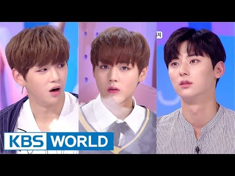 Hello Counselor - Wanna One's Kang Daniel, Park Jihoon, Hwang Minhyun [ENG/TAI/2017.09.11]