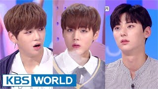 Video Hello Counselor - Wanna One's Kang Daniel, Park Jihoon, Hwang Minhyun [ENG/THA/2017.09.11] download MP3, 3GP, MP4, WEBM, AVI, FLV Juli 2018