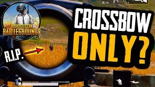 CROSSBOW ONLY CHALLENGE in PUBG Mobile!