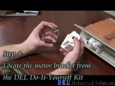 Motorized 2 wood blind battery operated do it yourself kit motorized 2 wood blind battery operated do it yourself kit installation video solutioingenieria Image collections