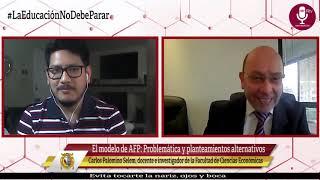 Tema: El modelo de AFP: Problemática y planteamientos alternativos