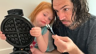 Cooking Lessons With Adley Making Breakfast Routine Morning Surprise For Mystery Guests