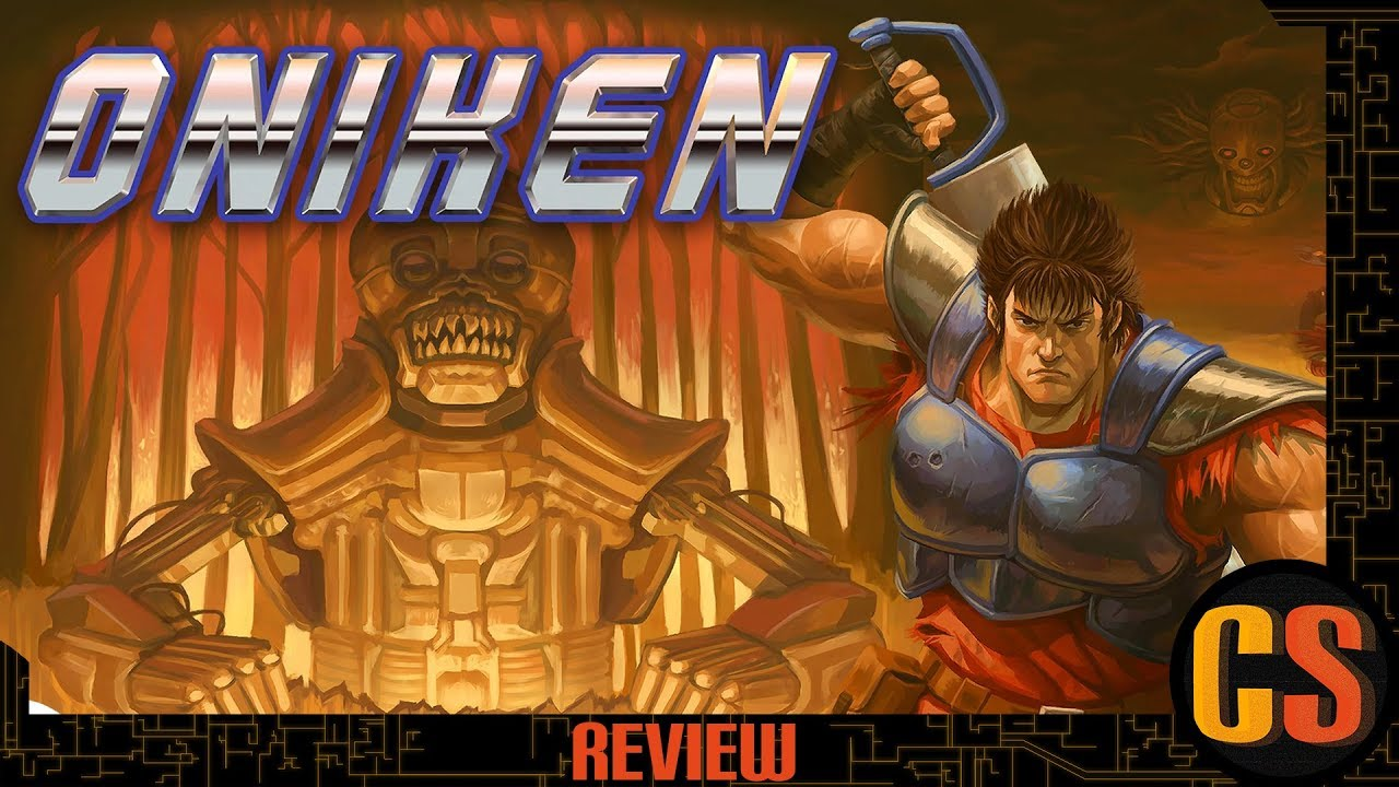 ONIKEN: UNSTOPPABLE EDITION - PS4 REVIEW (Video Game Video Review)