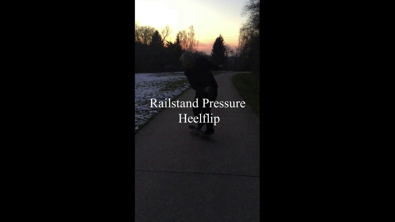 5 min. Forest Skate Session (March 2018)