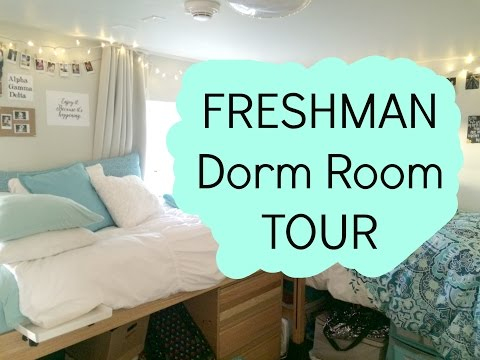 DORM ROOM TOUR   Freshman Year
