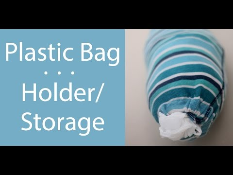 Plastic [Grocery] Bag Holder/Storage   YouTube