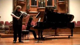 "Clip from my recital last May. Toru Takemitsu's ""A bird came down t..."