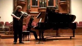 "Clip from my recital last May. Toru Takemitsu's ""A bird came down t..."