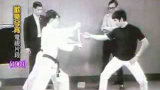 BRUCE LEE NEW FILM DISCOVERED (BUCE  LEE BREAKING WOOD AWESOME POWER)