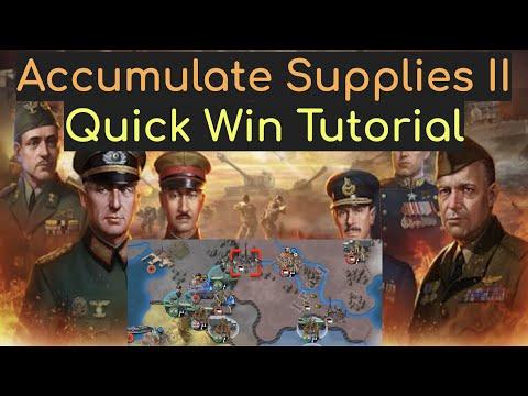 Accumulate supplies II #2, World Conqueror 4 (WC4)