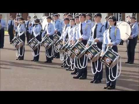 Air Cadet Organisation 75th Anniversary National Marching Band  RAF Cranwell  13082016