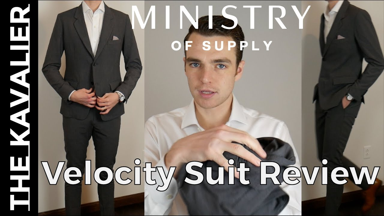 Ministry of Supply Velocity Suit Unboxing