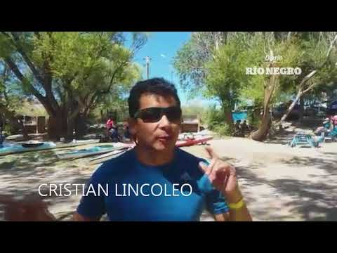 Regata del Río Negro: palista no videntes