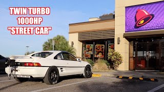 Taking an 8 Second Mr2 To Taco Bell
