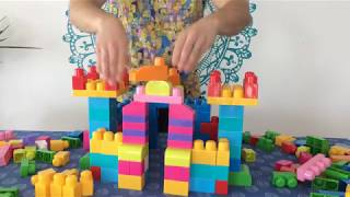 видео MEGA BLOKS First Builders. 80деталей