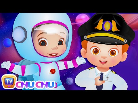 What do you want to be? Jobs Song - Professions Part 1 - ChuChu TV Nursery Rhymes & Songs for Babies