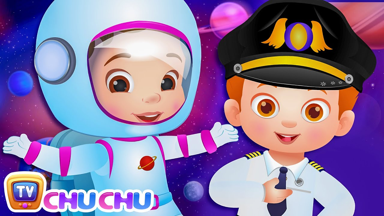 What do you want to be? Jobs Song - Professions Part 1 - ChuChu TV Nursery Rhymes & Songs for Ba