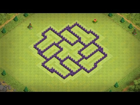 Town Hall 7 (CoC TH7) Best defence BASE