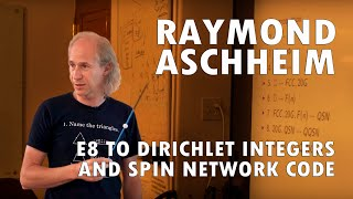 E8 to Dirichlet Integers and Spin Network Code