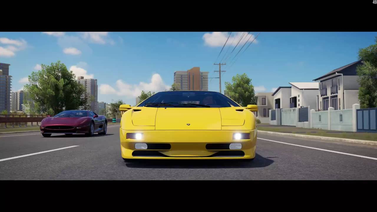 Forza Horizon 3 Ultimate Lamborghini Diablo Sv Retro Super Cars Race