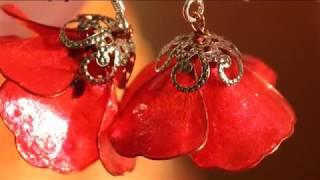 Easy!  Nail polish earrings