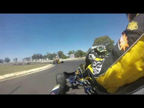 2016 NSW KZ2 Super Series, Round 4, Heat 3, onboard with Daniel Orsini