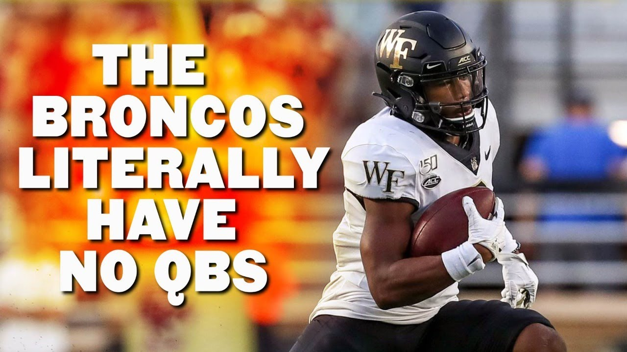 Broncos won't have quarterbacks against Saints because of COVID ...