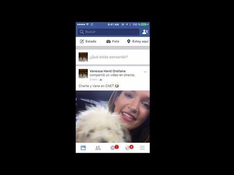 Quieres transmitir en vivo desde Facebook? Quizás debas