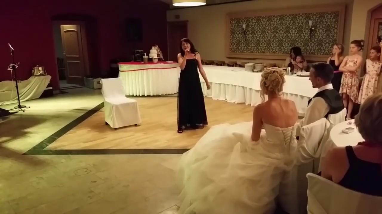 Uberraschung Mutter Singt Zur Hochzeit Youtube