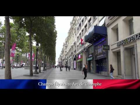 PARIS WALKING TOUR CLIPS