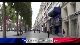 PARIS WALKING TOUR CLIPS