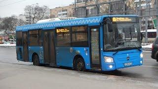 Поездка на автобусе ЛиАЗ-4292.60 (Группа ГАЗ) Е 728 ТМ 777 (9585628) Маршрут № 80 Москва