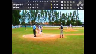 XIII Sul Americano Beisebol 2015 - Brasil x Argentina