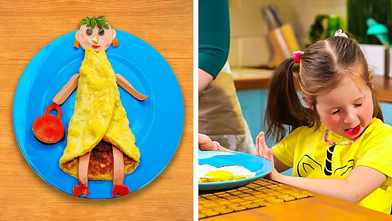 Breakfast for kids, Easy recipes and Food hacks