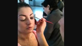 макияж в стиле Моники Беллуччи смоки айз дымчатый глаз