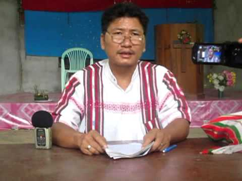 ZOMI  World Refugee Day   Maela Camp Thailand  20 6 2013