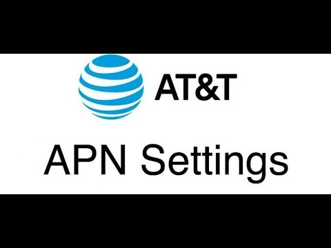 AT&T Data and MMS Internet APN Settings in 2 min on any Android Device