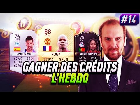 FIFA 17 - CREDITS FACILES SUR LES OTW ET LES IMOTM ! GAGNER DES CRÉDITS L HEBDO #14