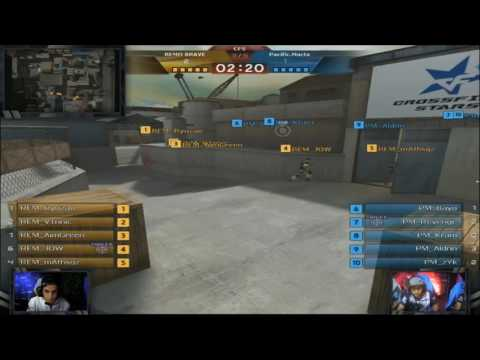 Crossfire Stars Invitational Manila Day2 Pacific Macta vs REMO BRAVE Game1 Port