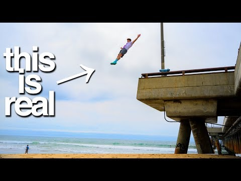 Insane Gymnasts Will Leap Off Anything *don't try these dares*