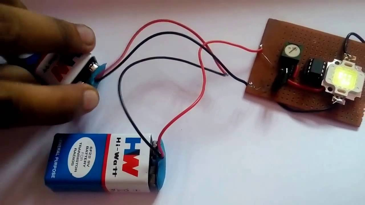 Basic Dimmer Circuit Using Ic 555 With Diagram Youtube Ne555 Pin