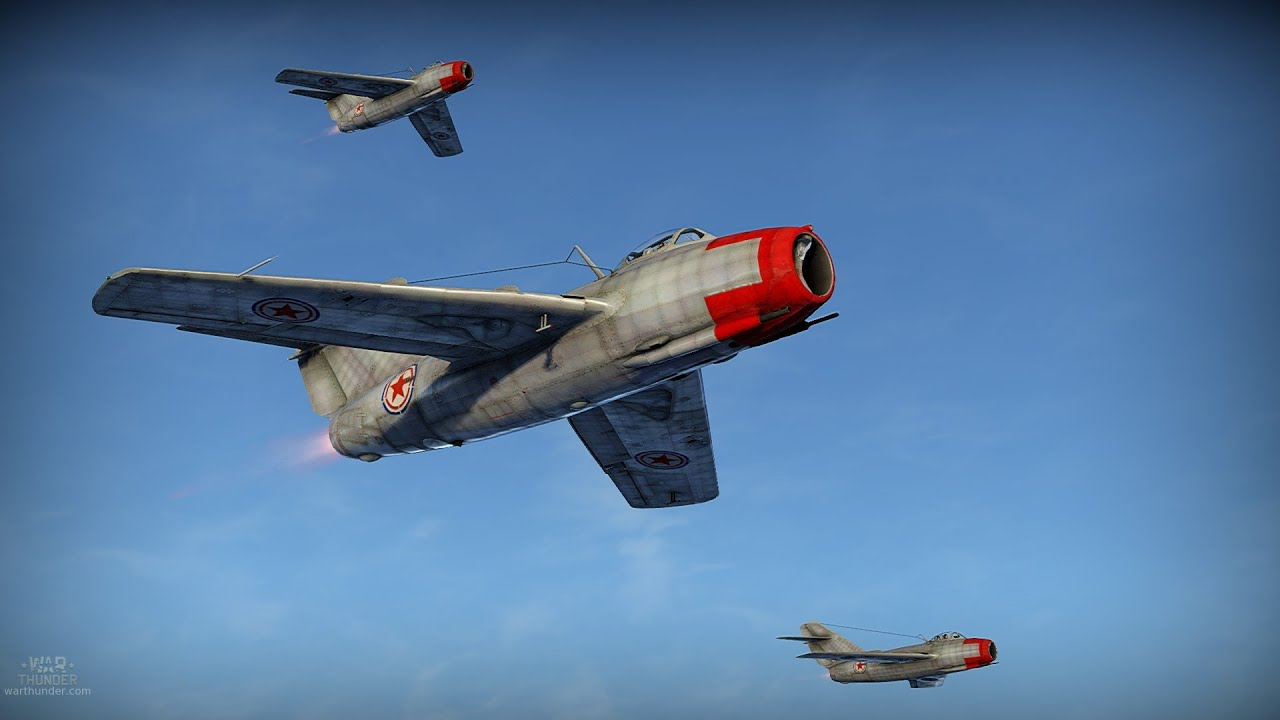 War Thunder Mig 15 Realistic Battle 7 Kills Ftw Youtube