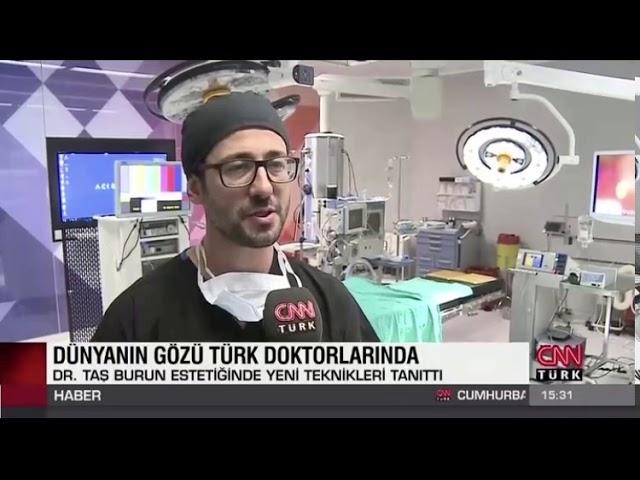 CNN TURK News | Closed Atraumatic Rhinoplasty Course
