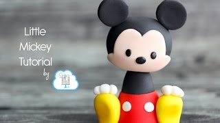 Fondant Mickey Tutorial