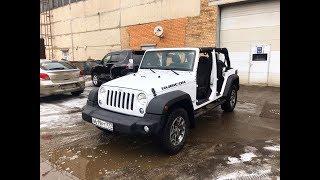 Jeep Wrangler Rubicon JK - Когда за 1.7 млн. едешь везде