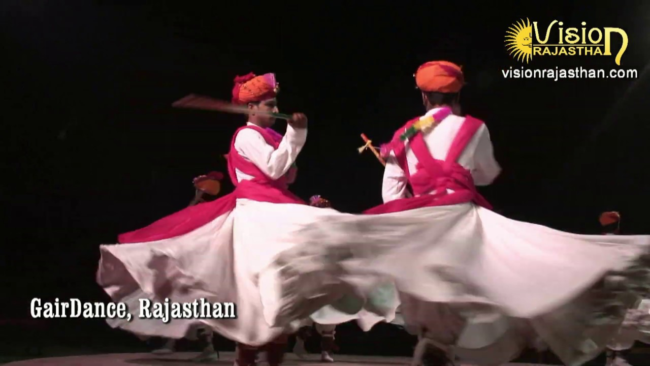 Gair Dance, Rajasrhan (राजस्थानी होली की गैर डांस)