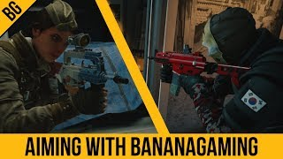 Aiming With BananaGaming Part 2 | Twitch & Vigil