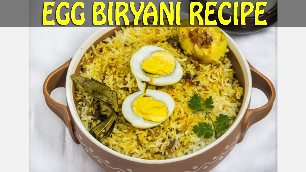 Easy instant egg biryani recipe in hindi youtube forumfinder Choice Image